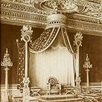 FRMN_004Fi_0579_Trone de Napoléon, Chateau de Fontainebleau_150px