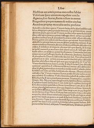 Triumphus Veneris Henrici Bebelii,... cum commentario, Joannis Altenstaig, Bebel, Heinrich, 1515