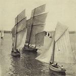 Cancale, bateaux de pêche