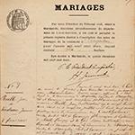 Actes d'Argenton, Mariages, 1903-1912